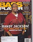 APRIL 2008 BASS PLAYER guitar music magazine RANDY JACKSON