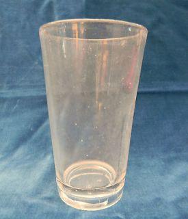 rare vintage antique heavy half pint water ale beer glass