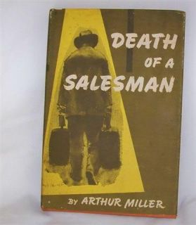 1949 Arthur Miller Death of A Salesman Hard Cover Book