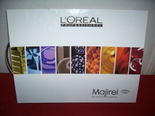 MAJIREL Ionene G Swatch Hair Color Chart Book Album NEW
