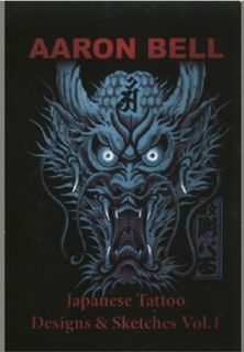 A3 Sketch Tattoo Flash Magazine Art Book Aaron Bell