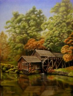 Artist Dgphelps How to Oil Paint Landscapes Art Lessons Instruction E