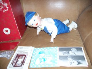 1991 Special Deliveries Baby Boy Doll Ashton Drake +Box FREE US