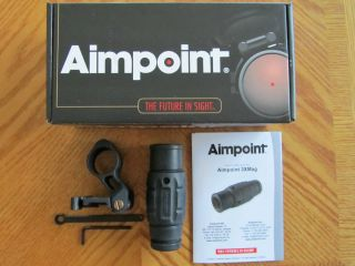 Aimpoint 3X Magnifier Scope with Larue Quick Detachable Flip to Side