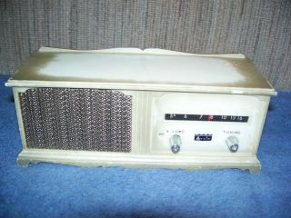 Arvin Mini Console   Transistor AM Radio   Works