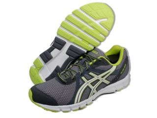 Asics Men Shoes Rush 33 Grey White Green Athletic Shoes