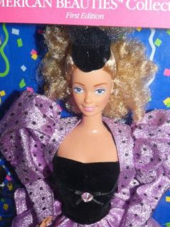 Gras Barbie 1st American Beauties Collection Askew Eyebrow RARE
