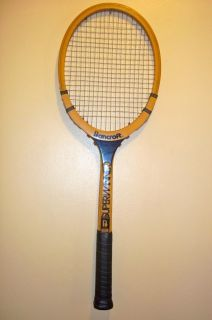 Bancroft Superwinner Vintage Wooden Tennis Racket