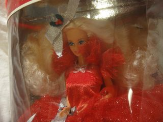 1988 Happy Holidays Barbie Doll First One Christmas Special 1st