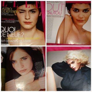 French Elle Eva Green Audrey Tautou Nigella Lawson 2003