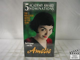Amelie VHS New Audrey Tautou Mathew Kassovitz 786936180824