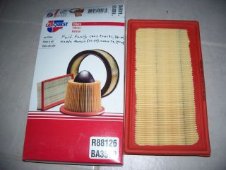 car quest R88126 Air Filter ford family cars and trucks 86 00 mazda
