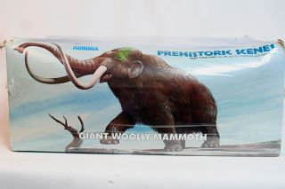 Aurora Woolly Mammoth Model SEALED for The 1970s Prehistoric Vintage