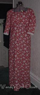 Handmade Regency Dress Cotton Fabrics Jane Austen 3 4