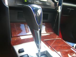 Camry 2012 LED Gear Shift Knob Chrome Automatic Carbon Look