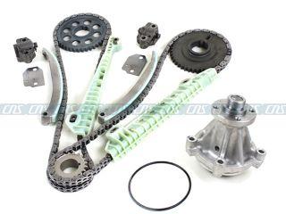 Explorer 4.6L 281ci SOHC V8 Engine Timing Chain Kit Water Pump New