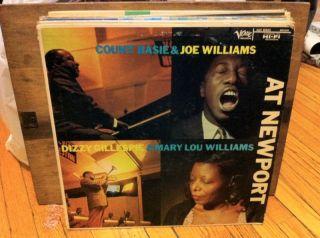 Count Basie Dizzy Gillespie at Newport LP Joe Williams