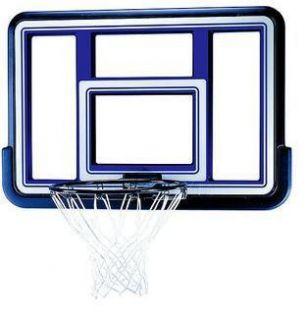 44 Acrylic Fusion Backboard and Rim Combo Basketball Hoop Net