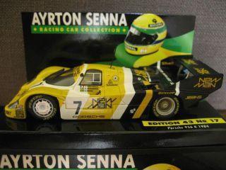 1984 Porsche 956K Ayrton Senna Da Silva Minichamps 1 43
