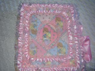 Baby Photo Album Precious Moments 3 Ring Binder Pink