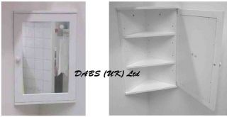 white plastic bathroom corner wall cabinet single door