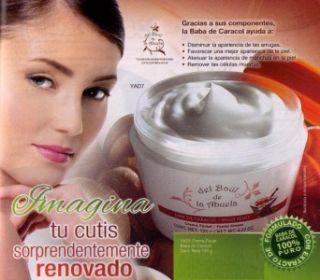 FACIAL SNAIL CREAM WHITENING  CREMA BABA DE CARACOL 100% PURO  4.23 oz