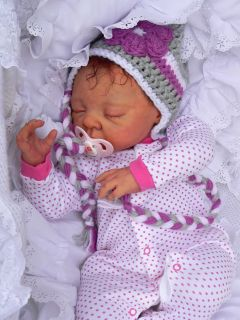 Reborn Baby Doll Cora Adrie Stoete Large Layette Nursery