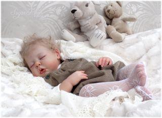 Sugar Plum Nursery Reborn Big Baby Toddler Girl Doll Camille Ann