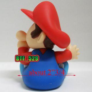 New Super Mario Bros Action Figure Baby Mario Baby Luigi Baby Princess