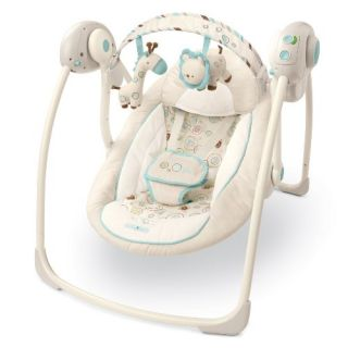 Starts Comfort and Harmony Portable Travel Swing Biscotti Baby
