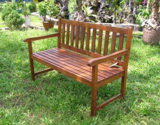 Brown Traditional Backyard Patio Porch Garden Furniture Wood Wooden