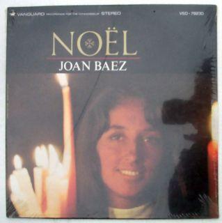 Joan Baez Noel Vinyl LP Record Vanguard Stereo VSD 79230 Still SEALED