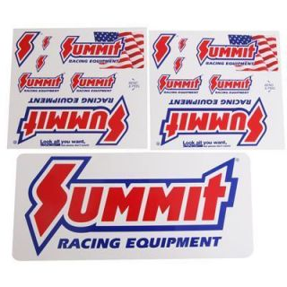 Summit Decal Summit Equipment Two 5 75 Long Decals One 12 Long Decal