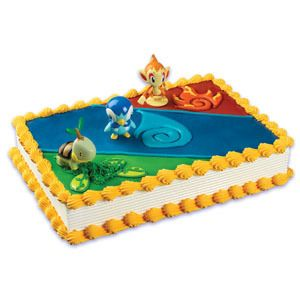 Bakery Cupcake Cake Birthday Pokemon Cake Topper Kit