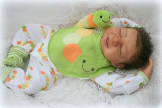 Prototype 2 Libby Marie Reborn Baby Doll Ethnic Bi Racial by Lydia Yee