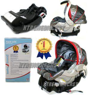 Baby Trend Red Silverado Flex Lock Infant Car Seat New