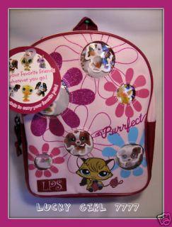 Littlest Pet Shop Backpack Pet Carrier PINK Low Shipping NWT US SELLER