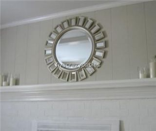 Brilliant 34 Sunburst Starburst Wall Mirror Horchow Large Mirrored