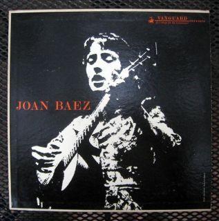 "Joan Baez ""s T"" Vaguard VRS 9078 Mono 1960 12 LP"