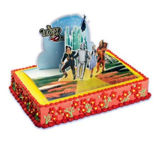 OF OZ POP UP Cake Topper Kit Emerald City Bakery Supplies Birthday set