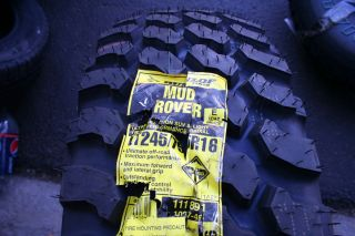 New Lt 245 75 16 Dunlop Mud Rover Tires Owl Shipping Discount