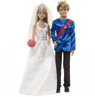 Barbie Fairytale Wedding 2 Doll Gift Set by Mattel Ken Barbie