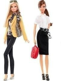 Barbie Tim Gunn Collection Dolls Set of Two New