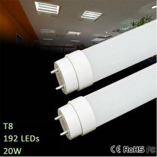 2X Pcs T8 White 20W LED Straight Tube Light Bulb 120cm Ultra Bright