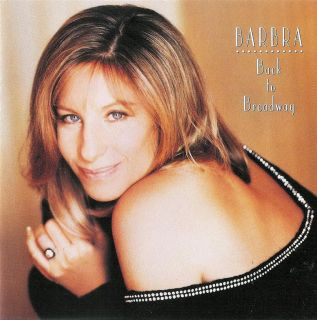 Barbra Streisand Back to Broadway CD 074644418927