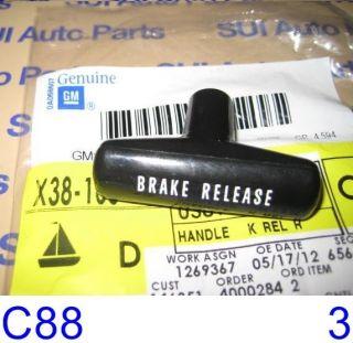 Chevy GMC Truck Van Car Parking Brake Release Handle Factory GM C88 3Z