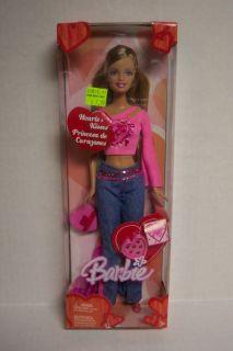 Barbie Hearts Kisses Princesa de Corazones Happy Valentines Day Doll