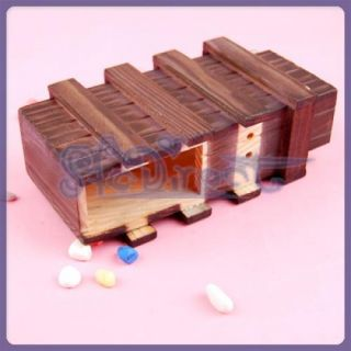 Magic Puzzle Wooden Box with Extra Secure Secret Drawer