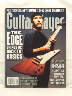 Guitar Player Magazine The Edge U2 Barenaked Ladies 01