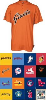 Cooperstown Collection Throwback MLB 2 Button Jerseys